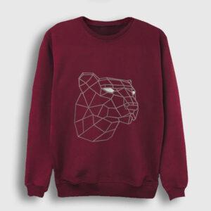 3D Kaplan Sweatshirt bordo