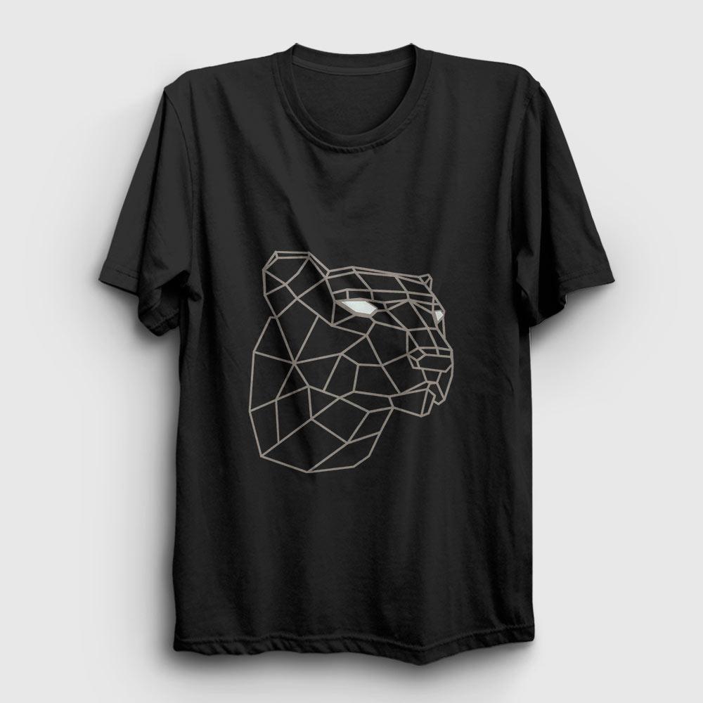 3d kaplan tişört siyah