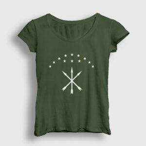 Adige Kadın Tişört haki
