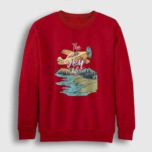 Alaska Sweatshirt kırmızı