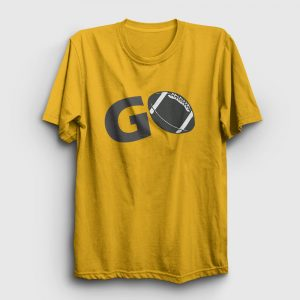 Amerikan Futbolu Go Tişört sarı