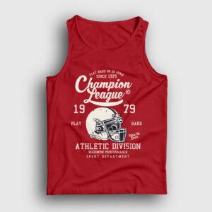 Amerikan Futbolu Şampiyonlar Ligi Atlet kırmızı