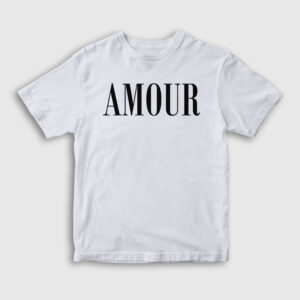 Amour Çocuk Tişört beyaz