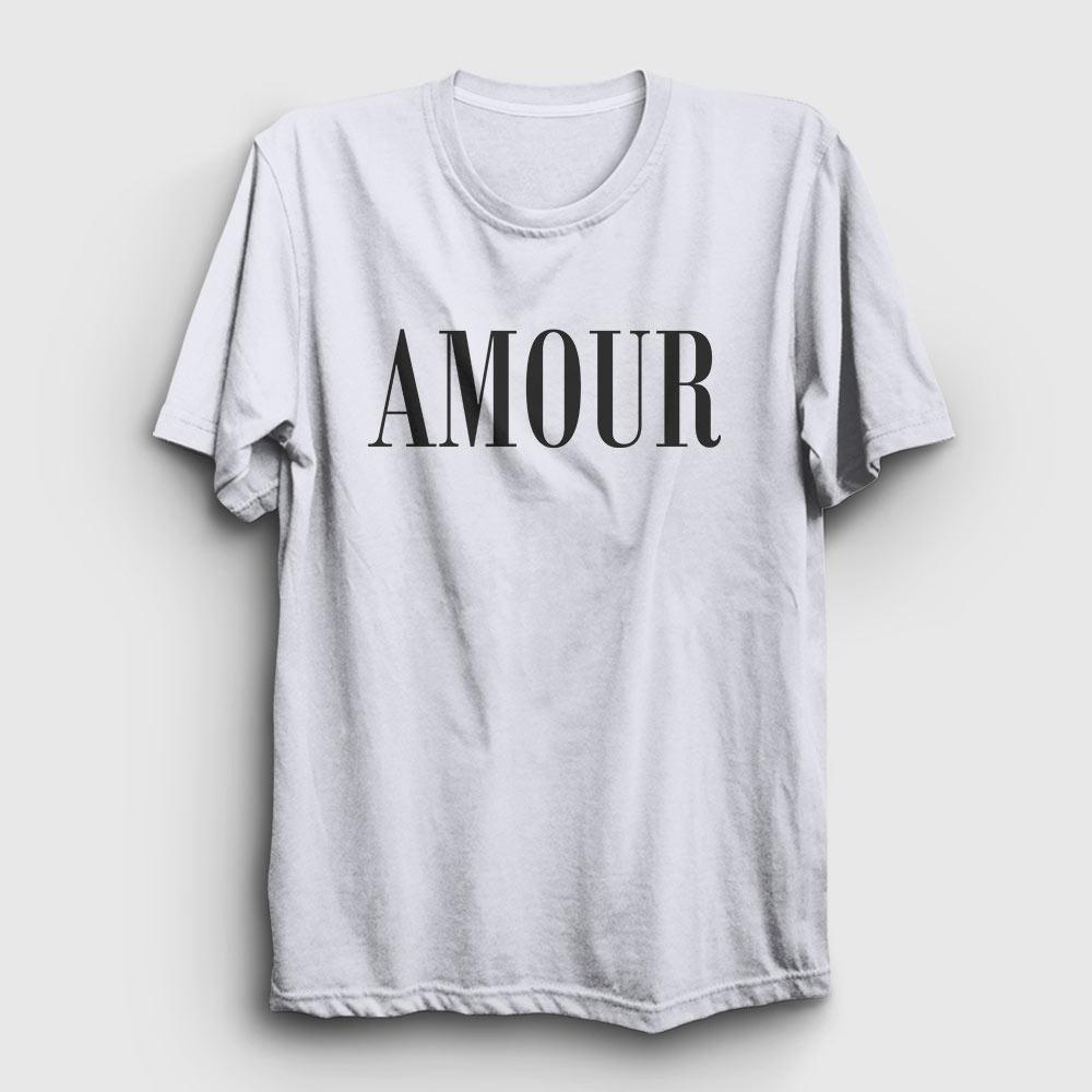 Amour Tişört beyaz