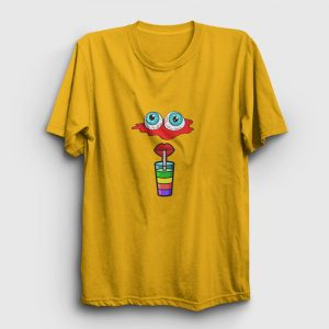 Animasyon Tişört sarı