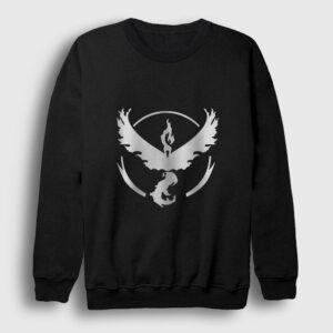 Anka Kuşu Sweatshirt siyah