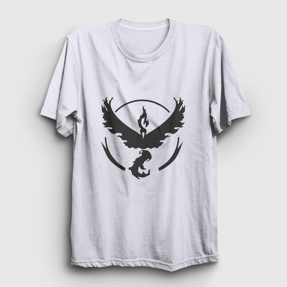 anka kuşu tişört beyaz