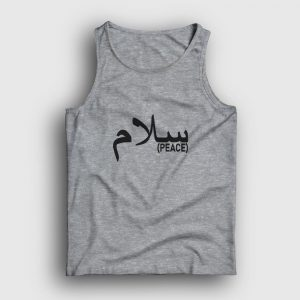 Arapça Barış Atlet gri kırçıllı