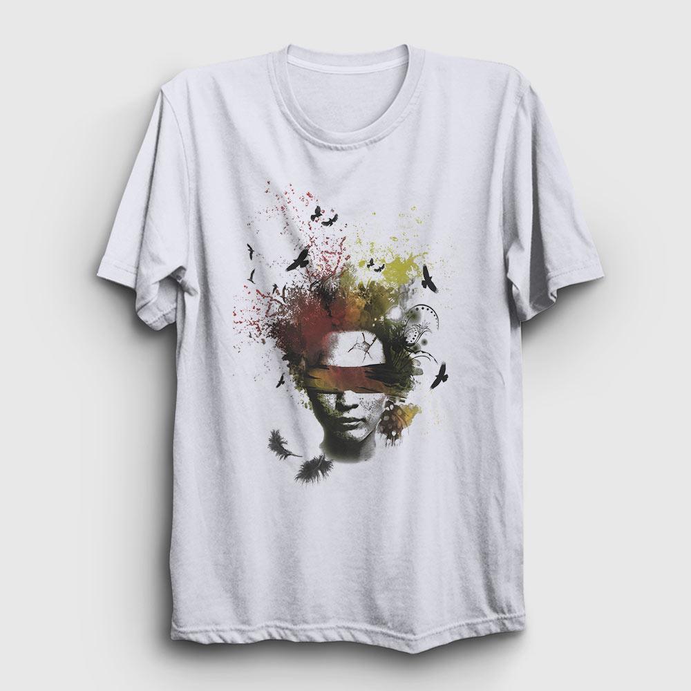 art in my head tişört beyaz