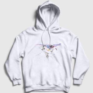Artist Mind Kapşonlu Sweatshirt beyaz
