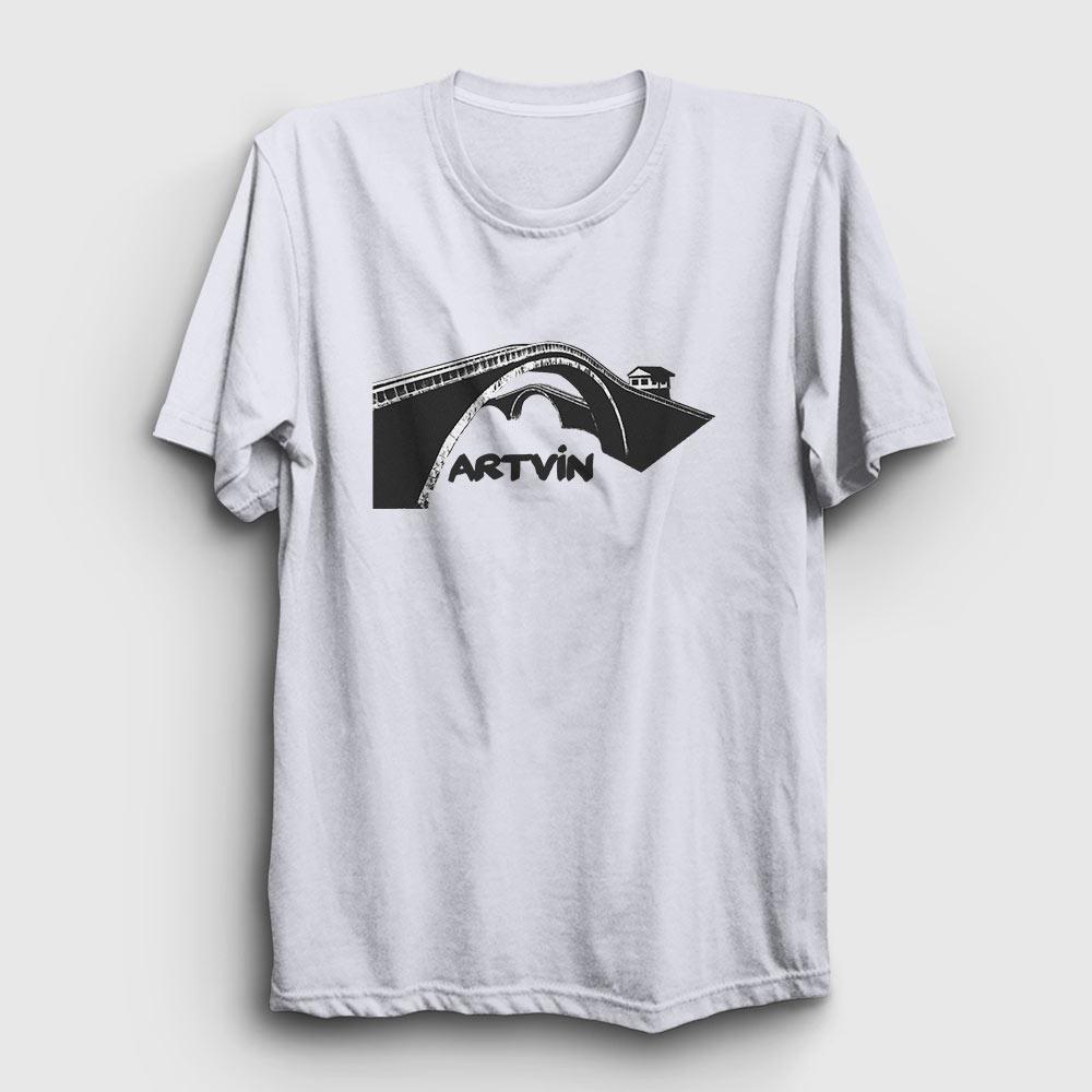 artvin tişört beyaz