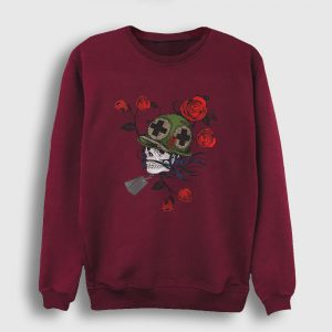 Asker ve Güller Sweatshirt bordo