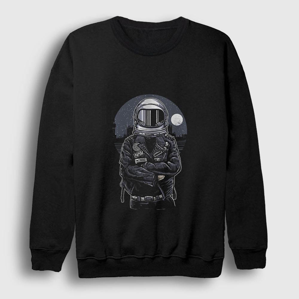 Astronaut Rebel Sweatshirt siyah