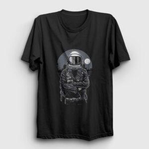 Astronaut Rebel Tişört siyah