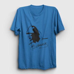 Atatürk Tişört açık mavi
