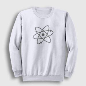 Atom Sweatshirt beyaz