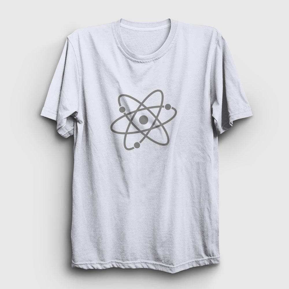 atom tişört beyaz