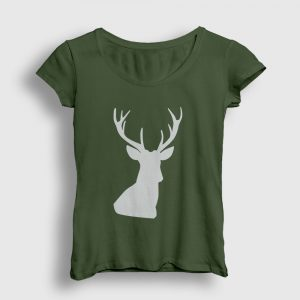 Avcı Kadın Tişört haki