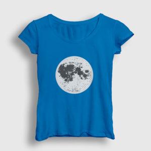 Ay Kadın Tişört açık mavi