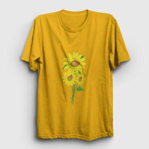 Ayçiçeği Tişört sarı