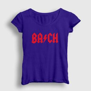 Bach Kadın Tişört lacivert