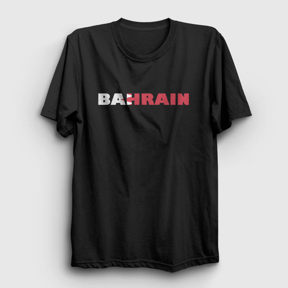 bahreyn tişört siyah