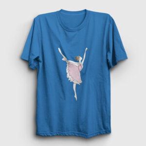 Balerin Kız Tişört açık mavi