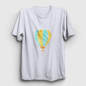 Balon Tişört beyaz