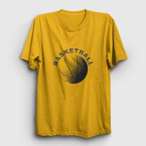 Basketball Tişört sarı