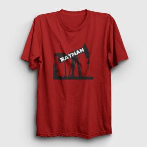 Batman Şehri Tişört kırmızı