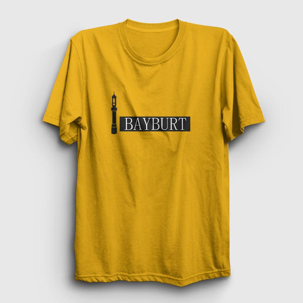 Bayburt Tişört sarı