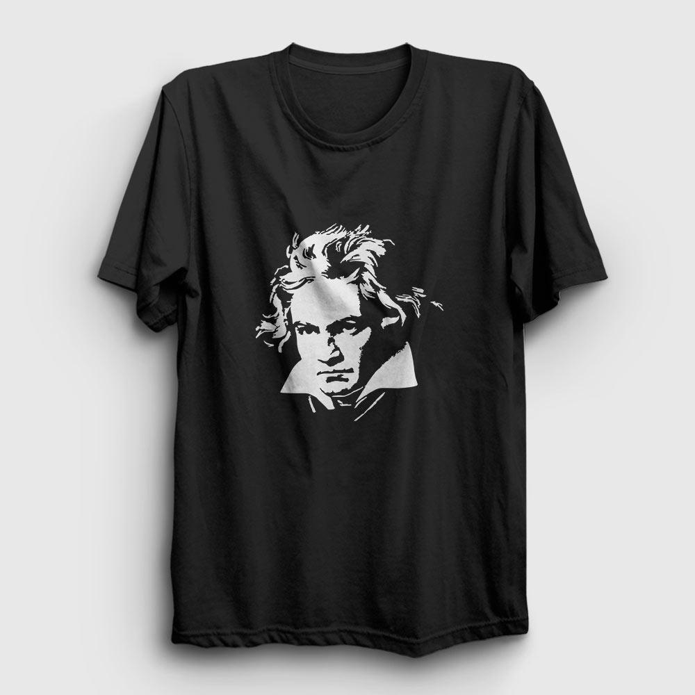 Beethoven Tişört siyah