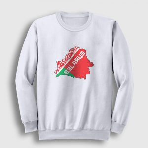 Belarus Sweatshirt beyaz