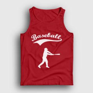 Beyzbol Atlet kırmızı
