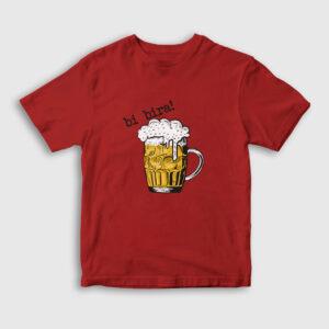 Bi Bira Çocuk Tişört kırmızı