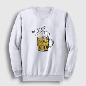 Bi Bira Sweatshirt beyaz