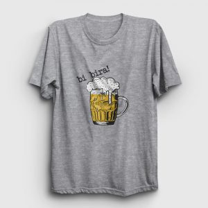 Bi Bira Tişört gri kırçıllı