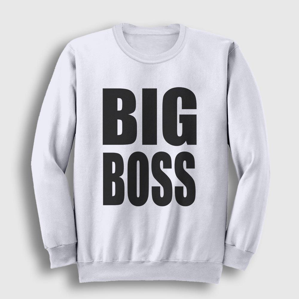 Big Boss Sweatshirt beyaz