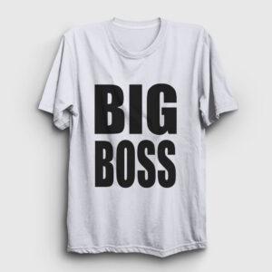 Big Boss Tişört beyaz