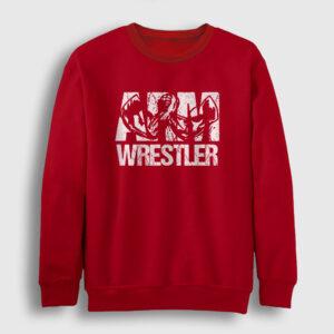 Bilek Güreşi Sweatshirt kırmızı