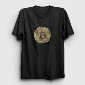 Bitcoin Tişört siyah