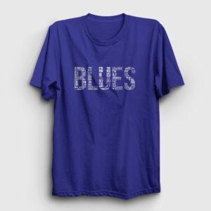 Blues Tişört lacivert