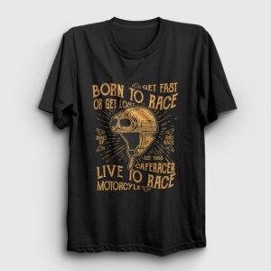 Born To Race Tişört siyah
