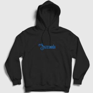 Bozcaada Kapşonlu Sweatshirt siyah