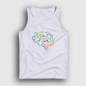 Brain Chain Atlet beyaz