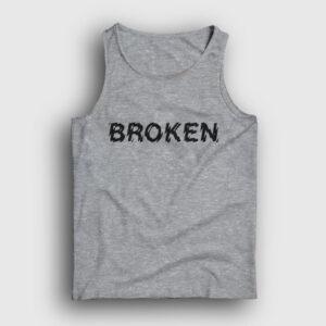 Broken Atlet gri kırçıllı
