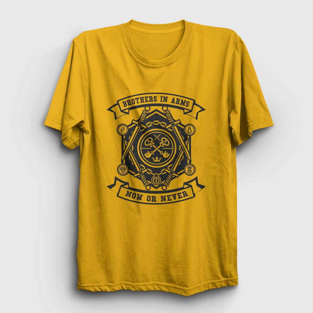 Brothers in Arms Tişört sarı