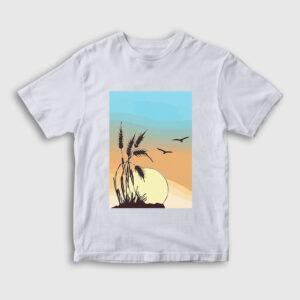 Buğday Çocuk Tişört beyaz