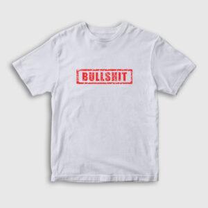Bullshit Çocuk Tişört beyaz