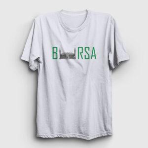 Bursa Tişört beyaz